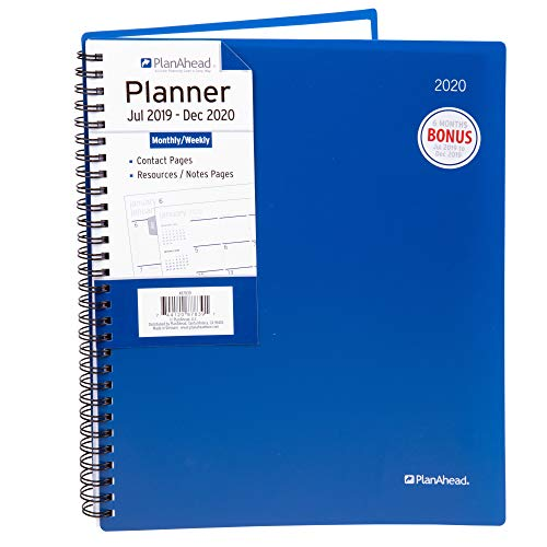 PlanAhead 2019-2020 Academic Daily Planner 8.5