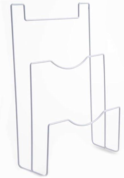 QWERTB Volver Puerta de la Cocina de Hierro de Almacenamiento en Rack los titulares de Pan Tapas Cubiertas de uñas Libres Armario suspensión de Puerta Bastidores for Tabla de Cortar Pot