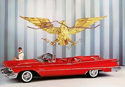 al Convertible Promotional Advertising Poster (Chrysler Imperial Convertible)