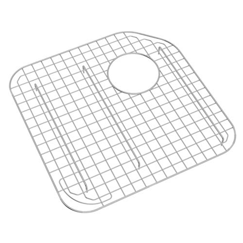 Rohl WSG6327LGSS Wire Sink Grids 16-13/16-Inch by 16-13/16-Inch Stainless Steel