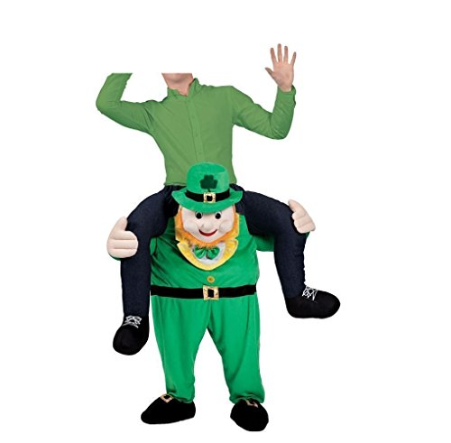 [ILOVEDIY Mascot Leprechaun Costume Festival Fancy Garden Gnome] (Festival Costume For Men)