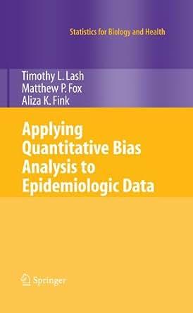 statistical analysis of epidemiologic data pdf