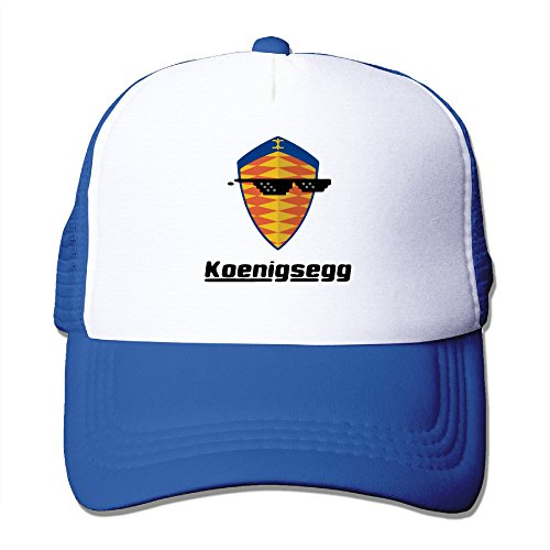 HandSon Custom Personalized Flat Billed Sunglass With Koenigsegg Car Logo Baseball Cap Hat - Sunglasses Mixer