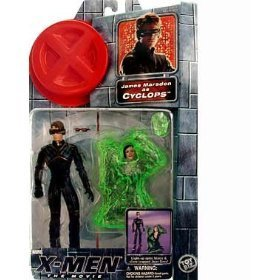 James Marsden As Cyclops Action Figure with Light-up Optic Blasts and Slime Trapped Jean Gray Action Figure - X-men: the Movie Series 1