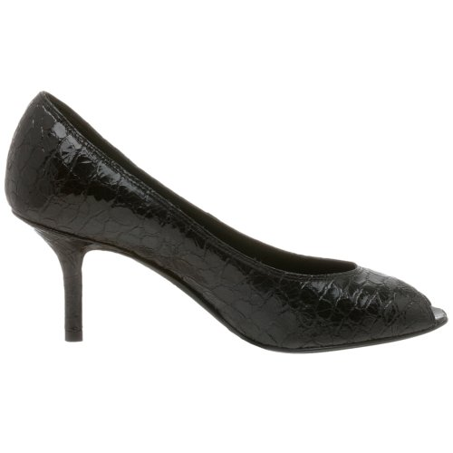 Donald J Pliner Womens Tiff Peep Toe Pump Nero