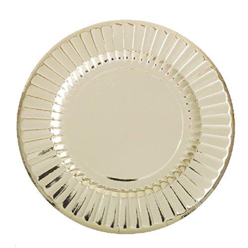 Mulit colore Givi Italia 63499/ 33/cm /6/piatti forma rotonda cm 33/oro