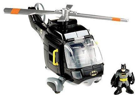 Imaginext DC Super Friends Exclusive Gotham City Batman Copter (Fisher Price Imaginext Dc Super Friends Batcopter)