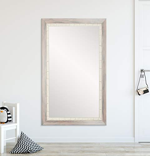 BrandtWorks BM023L2 Weathered Beach Wall Vanity Mirror, 32