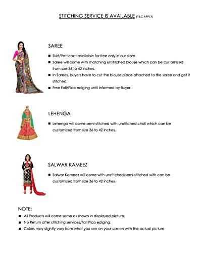 Da Facioun Indian Women Designer Partywear Ethnic Traditonal Salwar Kameez. Da Facioun Femmes Indiennes Concepteur Partywear Ethnique Traditionelles Salwar Kameez. Black 1 Noir 1