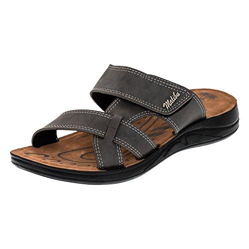 Malibu Sandalias de Vestir de Material Sintético Para Hombre M381gr Grau