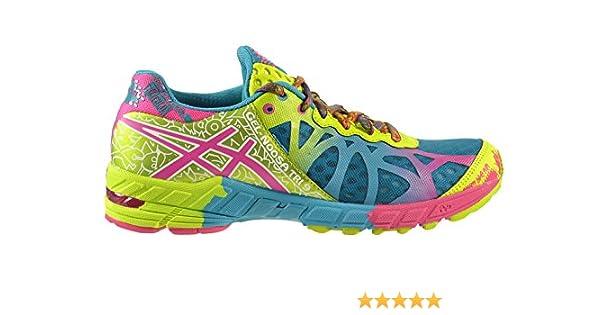 Asics Gel-Noosa Tri 9 Mujer Calzado de Capri Azul/Raspberry/Lime t458 N-5721: Amazon.es: Zapatos y complementos