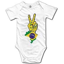 Olympics Games Boy's & Girl's The 2016 Rio De Janeiro White Baby Climbing Clothes