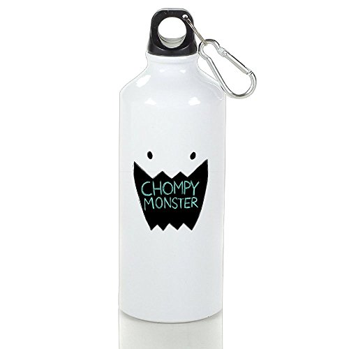 r Aluminum Outdoor Sports Bottle Perfect For Sports Kettle White 500ml ()
