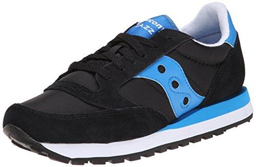 Saucony Originals Women's Jazz Original Fashion Sneaker,Black/Blue, 8 M US