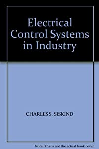 Hardcover Electrical control systems in industry Book