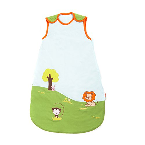 Fresh Shine冬Baby Sleep Sack、ベビーSleepingバッグ、編み、スモールサイズ( 0 – 6ヶ月)、1.0 Tog、グリーン 0-6 Month C02-1-10-1 B01M0LRWWW 0-6 Month|Woven 1.0 TOG Woven 1.0 TOG 0-6 Month
