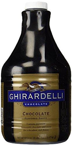Ghirardelli Black Label Chocolate Sauce 87.3oz - Single Bottle