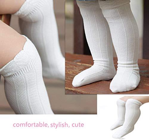Amazon.com: Bestjybt - Calcetines de punto para bebé recién ...