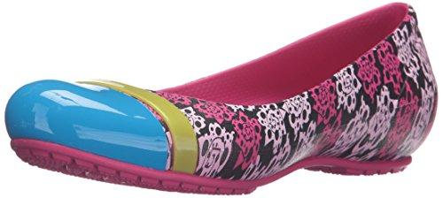 Crocs Candy Donna Toe Cap W Rose Flat Pink Mondo SCv61wxqcS