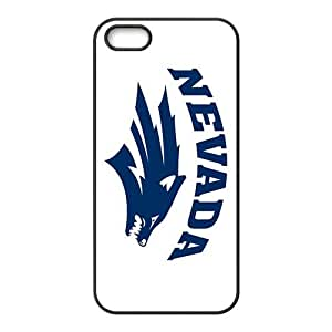 NCAA Nevada Wolf Pack Primary 2008 Black For HTC One M9 Phone Case Cover