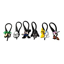 6 pcs Star Wars Bag Tag Identify your Luggage / Sac Marker Identifiez Votre Bagages