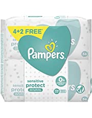 Pampers Sensitive Protect, 336 Wipes