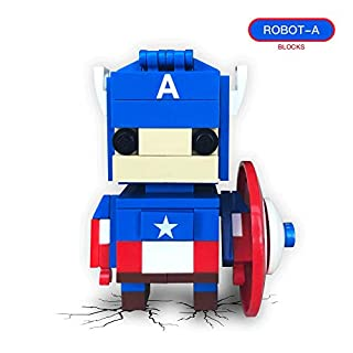 Richgv Building Block Building Kit DIY Figures Assemble Educational Toys Kit Gifts for Kids 3+