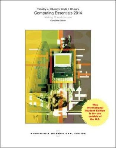 Computing Essentials Pdf