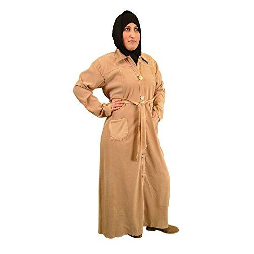 Layla Abaya - HELLBRAUN - Islamische Kleidung - 17-0006
