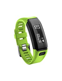 2017 NEW Watch Band Replacement, ABC Replacement Soft Silicone Bracelet Sport Strap WristBand Accessory for Garmin Vivosmart HR (Green)