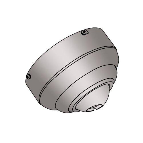 (Sea Gull Lighting 1630-839 Slope Ceiling Fan Adapter, Blacksmith)
