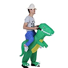 Anself Inflatable Dinosaur Costume Party/Halloween/Cospaly/Carnival 1,2-1,4meter