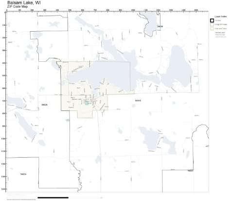 Amazon.com: ZIP Code Wall Map of Balsam Lake, WI ZIP Code ... on map of lake winnebago, map of lake michigan, map of shawano lake, map of lake joseph, map of utah lake, map of lake superior, map of lake minocqua, map of woman lake, map of lake pend oreille,