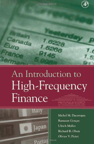 An Introduction to High-Frequency Finance by Ramazan Gencay