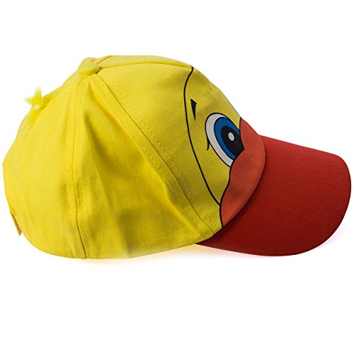 Funny Party Hats Duck Hat - 2 Pc Set - Ducky Baseball Cap with Yellow Boa - Costume Hats - Funny Cap - http://coolthings.us