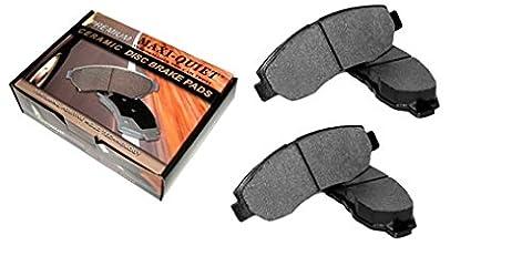 Rear Low Dust Ceramic Pads - for 1998 Chevrolet T10 Blazer & Pickup - 17077 Kit