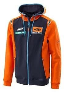 KTM Replica Equipo Zip sudadera con capucha grande ...