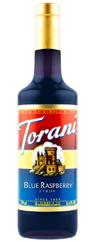 Torani Blue Raspberry Syrup, 25.4 Fluid Ounce Bottle