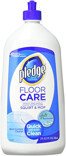 (Pledge Multi Surface Floor Cleaner, 27-Ounce plastic bottles (Pack of 6),Packaging may vary)
