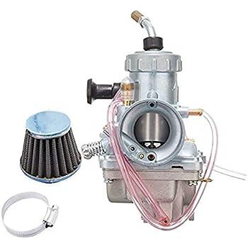 Carburetor W// Air Filter For Yamaha Enduro 125 AT1 AT2 AT2 175 CT1 CT2 CT3 Carb