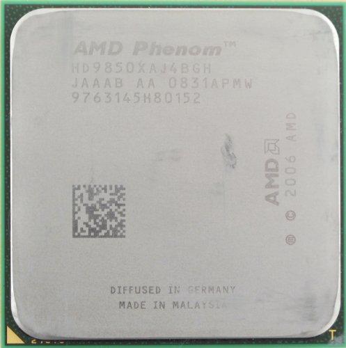 AMD Phenom X4 9850 2.5GHz 4x512KB Socket AM2+ Quad-Core CPU