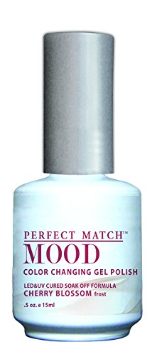 LECHAT Perfect Match Mood Gel Polish, Cherry Blossom, 0.500 Ounce