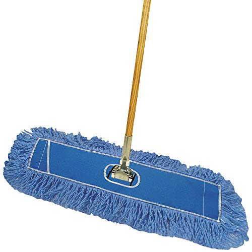 - Deluxe Looped-End Dust Mop Kit, 24