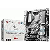 MSI Arsenal Gaming Intel Z270 DDR4 HDMI USB 3 CrossFire ATX Motherboard (Z270 TOMAHAWK ARCTIC)
