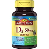 Cheap Nature Made Vitamin D3 2000iu 320 Ct. Soft Gels