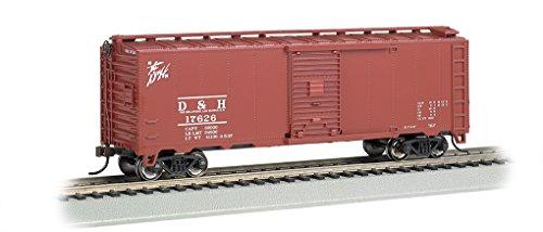 Bachmann Industries 40' Steam Delaware & Hudson Era Box Car (HO Scale)
