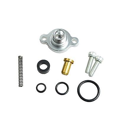 Fuel Pressure Regulator Billet Valve Cap Kit Fit For Ford 7.3L Powerstroke Diesel from yjracing