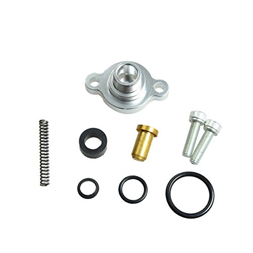 Fuel Pressure Regulator Billet Valve Cap Kit Fit For Ford 7.3L Powerstroke Diesel (Kit Pressure)