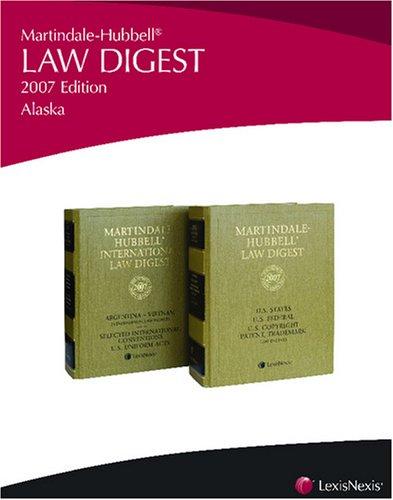 Martindale-Hubbell Law Digest: Alaska