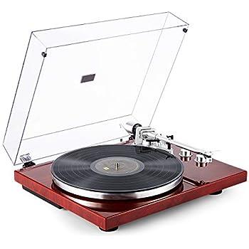 TechPlay TCP4530 Record Player Turntable 33 45 RPM Belt Drive Black REFURBISHED